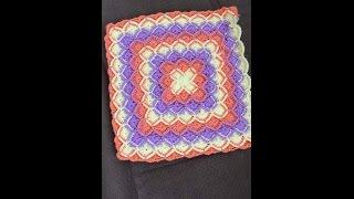 getlinkyoutube.com-Bebek battaniyesi modeli yapımı videosu