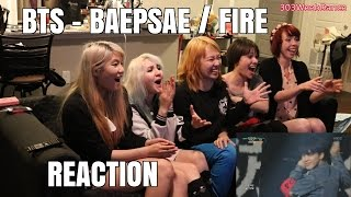 getlinkyoutube.com-[Reaction] BTS 방탄소년단 - BAEPSAE 뱁새 (Crow Tit) / FIRE 불타오르네