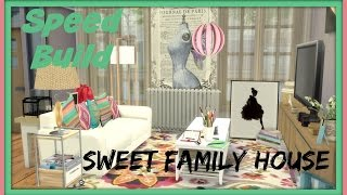 getlinkyoutube.com-Sims 4 - Speed Build - Sweet Family House 1´s Floor