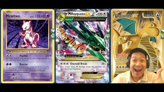 getlinkyoutube.com-Dragonite Mega Rayquaza Deck, Maintaining Extreme DMG ALL The Time
