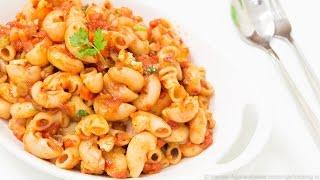getlinkyoutube.com-Indian Style Macaroni Pasta Recipe   Kids Lunch Box / Indian Style Recipes