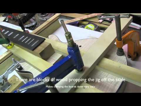 Neck Jig for Luthier Custom Guitar Building PRS Style Neck Tenon Gibson Set Neck