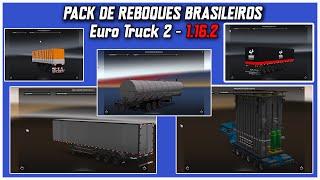 getlinkyoutube.com-PACK DE REBOQUES PARA 1.16.2 - Euro Truck 2