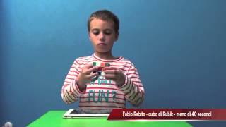 getlinkyoutube.com-40 secondi, cubo di Rubik Fabio