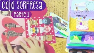 getlinkyoutube.com-REGALA UNA CAJA SORPRESA - Tutorial Parte 1 (Exploding Box) ✎ Craftingeek