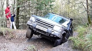 getlinkyoutube.com-Best Green Lane left in the UK, Machynlleth driven by Land Rovers