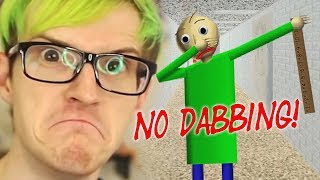 NO DABBING IN THE HALLS! | BALDI'S BASICS MEMES (Reacting To Baldi Memes)