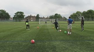 FOOTBALL MESS AROUND WITH THE GUYS!