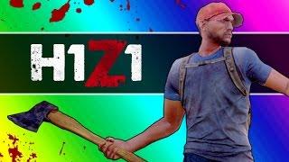 getlinkyoutube.com-H1Z1 Adventures - The Police Station & My Name Jeff (H1Z1 Funny Moments)
