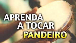 BATIDA DE SAMBA E PAGODE NO PANDEIRO - VÍDEO AULA - TUTORIAL (SIMPLES E FÁCIL)