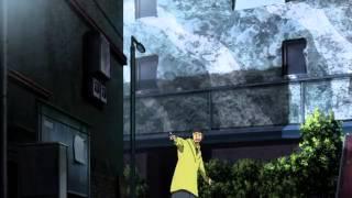 getlinkyoutube.com-Durarara!! Episode 3 - Shizuo Heiwajima vs Izaya Orihara & The 'Dollars'