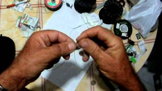 getlinkyoutube.com-A simple braid to braid knot - ενα απλο Δεσιμο νημα  νημα,sotos fishing