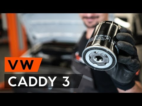 Как заменить моторное масло и масляный фильтр VW CADDY 3 (2KB) (ВИДЕОУРОК AUTODOC)