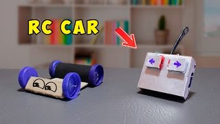 getlinkyoutube.com-How To Make A Simple RC Car ( simple life hacks ! )