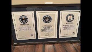 getlinkyoutube.com-Rick Smith Jr.'s Guinness World Record Card Throw!