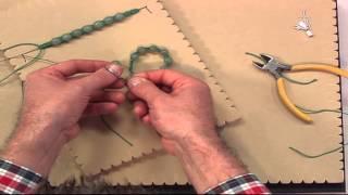getlinkyoutube.com-How to Start and Finish Macramé Bracelets (shamballa bracelet)