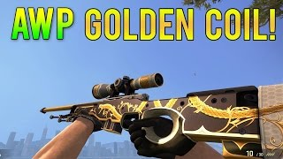 getlinkyoutube.com-CS GO - AWP Golden Coil Gameplay [Workshop Skins]