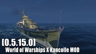 getlinkyoutube.com-[0.5.15.0] World of Warships X Kancolle MOD