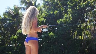 getlinkyoutube.com-Live Bait & How To Tips Inshore Fishing the Barra Bounty Online