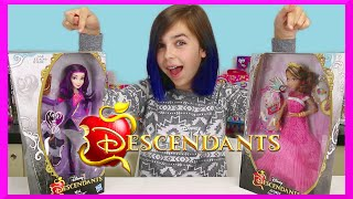 getlinkyoutube.com-DISNEY DESCENDANTS | AUDREY and MAL | Toy Doll Review