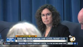 getlinkyoutube.com-Tears and finger-pointing over school budget cuts