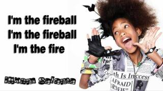 getlinkyoutube.com-Willow Smith - fireball ft.Nikki Minaj (Lyrics On Screen)