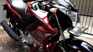 getlinkyoutube.com-Yamaha new vixion half fairing