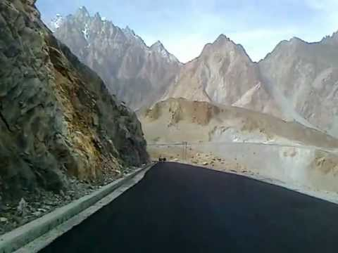 Passu at Karakoram Highway,Gilgit baltistan