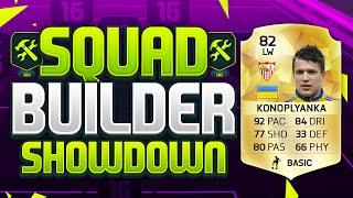 getlinkyoutube.com-FIFA 16 SQUAD BUILDER SHOWDOWN!!! THE CHEAP RONALDO!!! Konoplyanka Squad Builder Duel