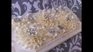 {LANA} Bridal Clutch Part 1of2: How to make an easy diy placemat bridal clutch