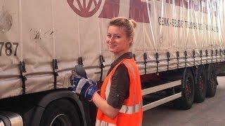 getlinkyoutube.com-Vita da camionista 2 giorno con Iwona Blecharczyk