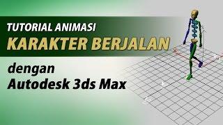 getlinkyoutube.com-Tutorial Animasi Karakter Berjalan dengan 3ds Max