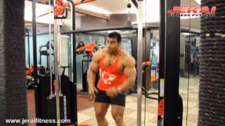 getlinkyoutube.com-TRICEP WORKOUT BY SANGRAM CHOUGULE ON JERAI FITNESS EQUIPMENT