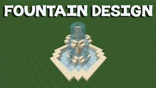 getlinkyoutube.com-Minecraft Tutorial: How To Make A Fountain