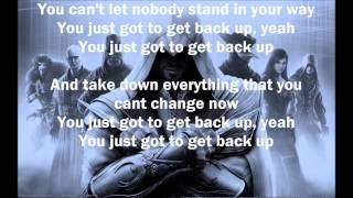 getlinkyoutube.com-G-Eazy - Get Back Up (Assasin's Creed) (Lyrics)