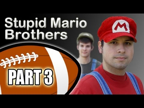 Stupid Mario Brothers Football - Part 3 of 4