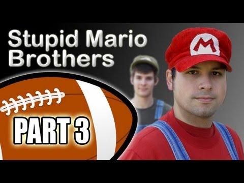 Stupid Mario Brothers Football - Part 3 of 4