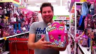 getlinkyoutube.com-Toy Hunting - Shopkins, My Little Pony, Trash Pack, Mashems