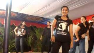 "getlinkyoutube.com-..""COLLEGE GIRLS"" ARE  ENJOYING ON DANCING..!!!!."