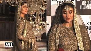 Mom-to-be Kareena Gets Emotional On The Ramp | LFW 2016
