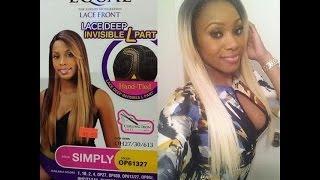 getlinkyoutube.com-Blonde Bombshell ! | Tamar Braxton Inspired Wig | Freetress Equal L Part