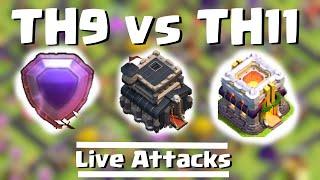 getlinkyoutube.com-TH9 Titan vs. TH11 Legend | Clash of Clans | Quantum´s 8.9