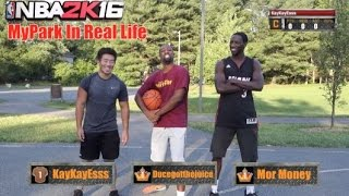 getlinkyoutube.com-NBA 2K16 MY PARK IN REAL LIFE!