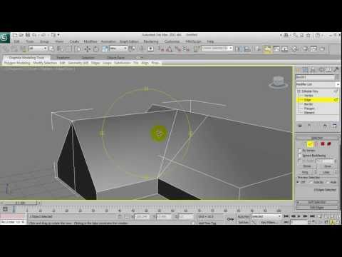Basic Modelling in 3DS Max: House (Part1)