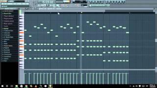 Fl Studio Remake: SASH! vs Olly James - Ecuador (by Gerson) + FLP