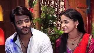 getlinkyoutube.com-Budding romance between Rudra and Paro-From the Sets of Rangrasiya
