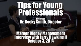 Maroon Money Management Interview Highlights - October 3, 2014 | HawkDG