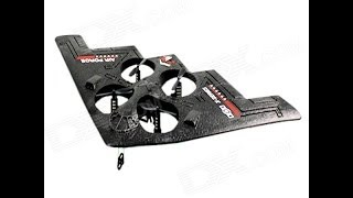 getlinkyoutube.com-Xinxun X32 4 Channel RC Stealth Bomber Quadcopter