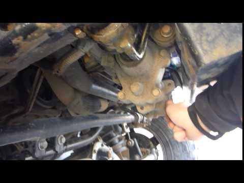 Диагностика переднего стабилизатора Jeep JK