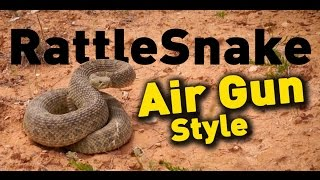 Rattle Snake Hunt with an Air Gun